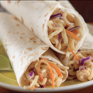 timesaving thai wraps